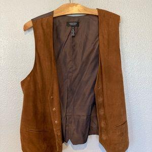 Nordstrom brown vest